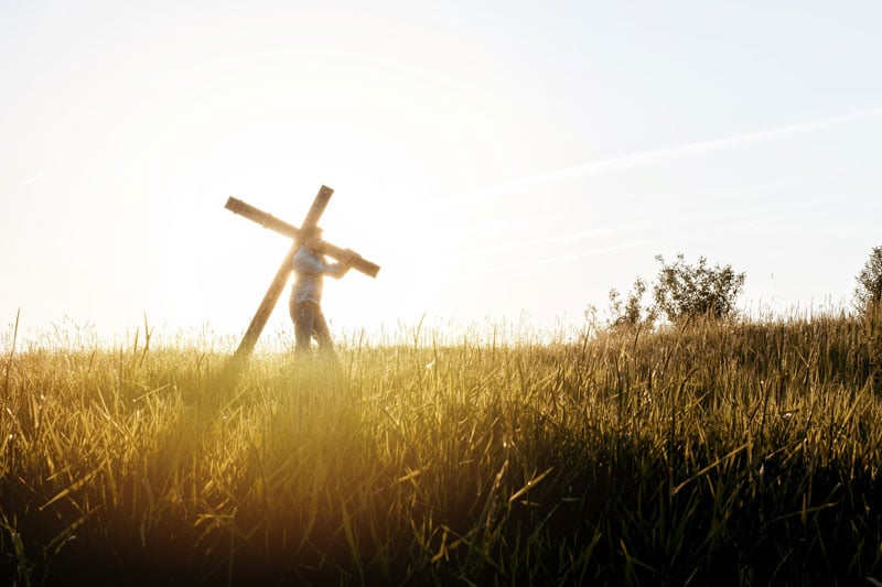 Take Up Your Cross And Follow Him